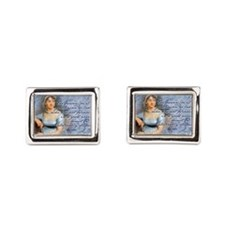 Jane Austen Quote Cufflinks