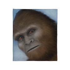 Bigfoot: The Unexpected Encounter Throw Blanket