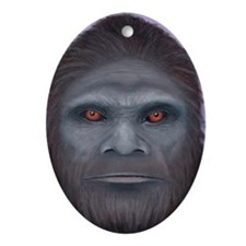 Bigfoot: The Encounter Oval Ornament