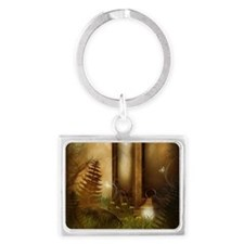 Fairy Woodlands 5 Landscape Keychain