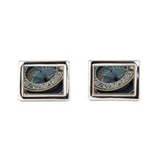 Prague astronomical clock Cufflinks