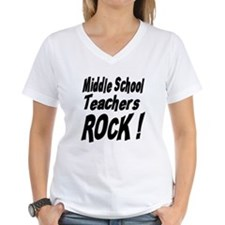 Middle School Teachers Rock ! Shirt