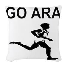 GO ARA Woven Throw Pillow
