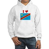 I love Zaire Flag Jumper Hoody
