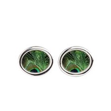 Loma Peacock Cufflinks
