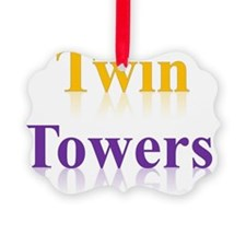 Twin Towers! Ornament