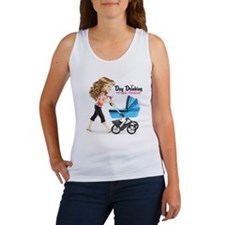 Day Drinking and Diaper Changing Women's Tank Top