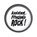 Assistant Principals Rock ! Wall Clock