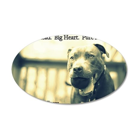 Boomer (pure love) 35x21 Oval Wall Decal