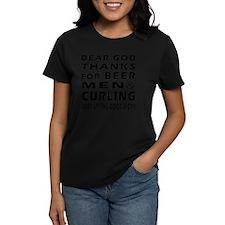 Beer Men and Curling Tee