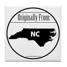 Originally from North Carolina Tile Coaster