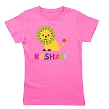 Rashad Loves Lions Girl's Tee