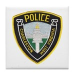 Charleston Police Tile Coaster