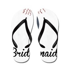 Elegant Bridesmaid Flip Flops