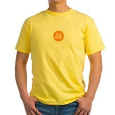 I'm an orange Yellow T-Shirt