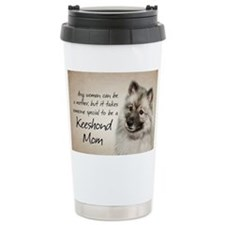 Keeshond Mom Travel Mug