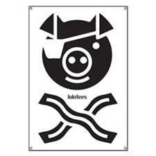The Bacon Pirate, Funny Banner