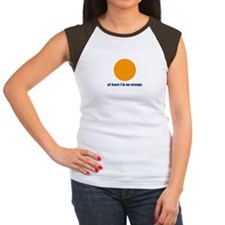 at least i'm an orange Women's Cap Sleeve T-Shirt