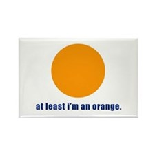 at least i'm an orange Rectangle Magnet (100 pack)
