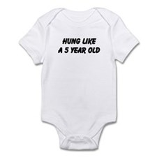 Cute Year old Infant Bodysuit