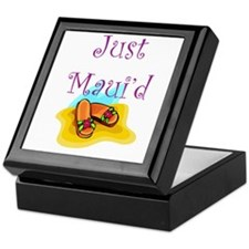 Just Maui'd Flip Flops Keepsake Box
