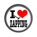I Heart (Love) Zapping Wall Clock