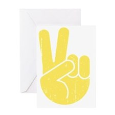 univ-peace-hand2-LTT Greeting Card