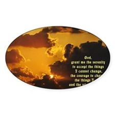 Serenity Prayer Bumper Stickers