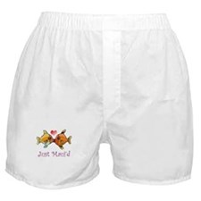 Just Maui'd Tropical Fish Log Boxer Shorts