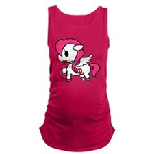 Zombie Pony Maternity Tank Top