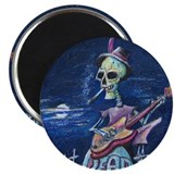 Dead Head 2.25&quot; Magnet (100 pack)