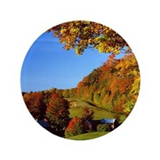 """Country Glory in the Fall 3.5"""" Button"""