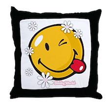 flower me Throw Pillow