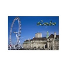 London Rectangle Magnet (10 pack)