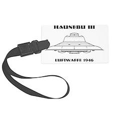 Nazi UFO - Haunebu III Mug Luggage Tag