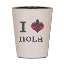 I Heart NOLA Shot Glass