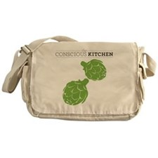 TCK Artichoke Tote Green Messenger Bag