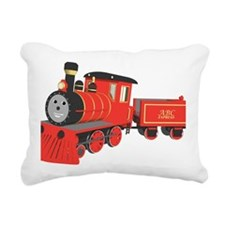 Shawn the train classic Rectangular Canvas Pillow