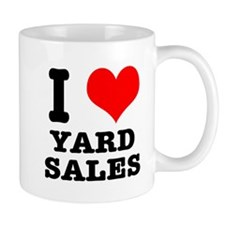 I Heart (Love) Yard Sales Mug