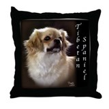 Tibetan Spaniel Throw Pillow