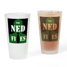 Reverse NED logo Drinking Glass