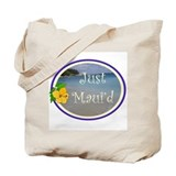 Just Maui'd Beach Logo Tote Bag