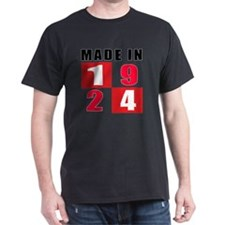 Made In 1924 designs T-Shirt