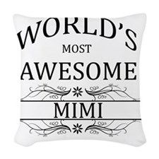 mimi Woven Throw Pillow