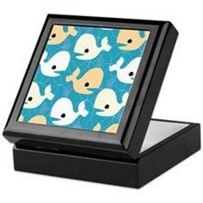 Whale Fun Keepsake Box