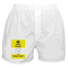 Keep Calm and Chill Out Ketamine Boxer Shorts