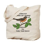 Dem Dam Boids is back. Tote Bag