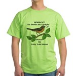 Dem Dam Boids is back. Green T-Shirt