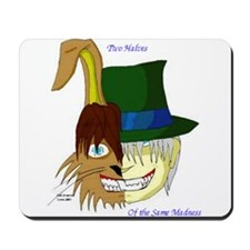 Mad Hatter, March Hare Mousepad