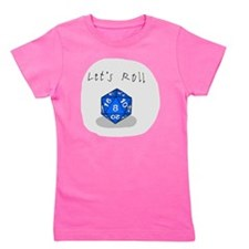 Lets Roll Girl's Tee